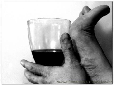 stary człowiek i wino czyli tygrysa autoportret własny 20110430